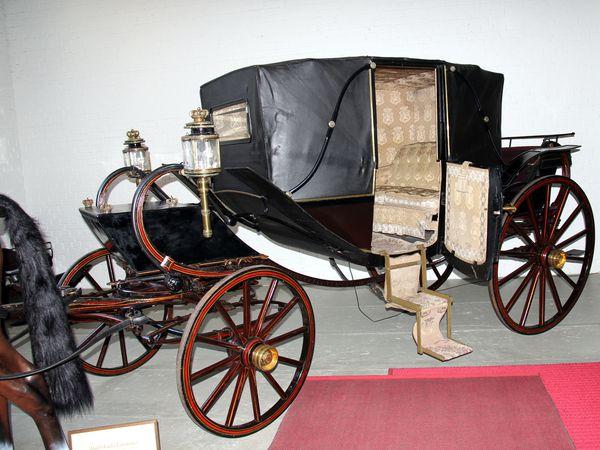 Landau de la cours royale belge, Snutsell Freres, Bruxelles