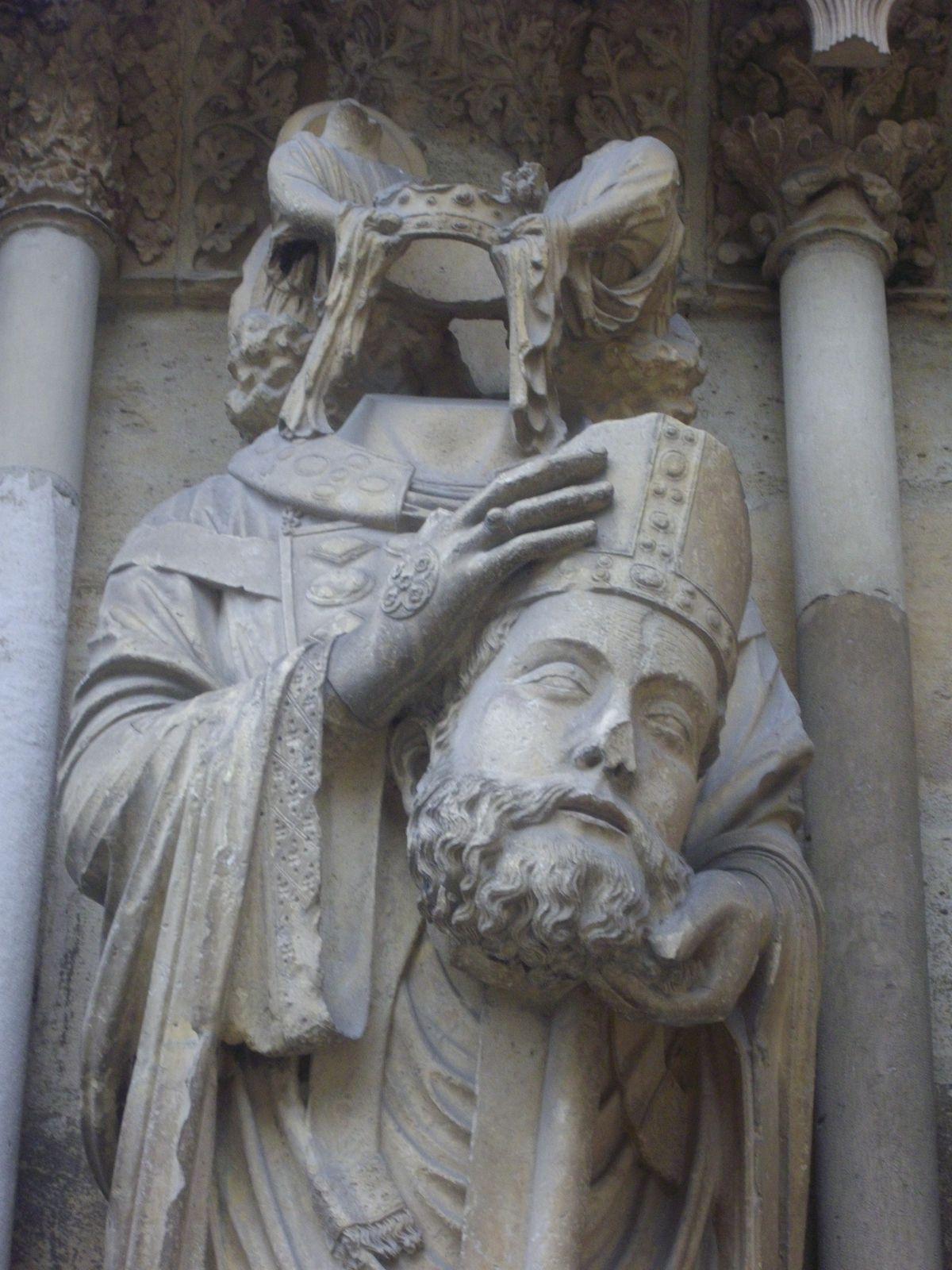 SAINT NICAISE (Cathédrale de Reims)
