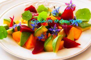 Salade Tonique et Fleurie