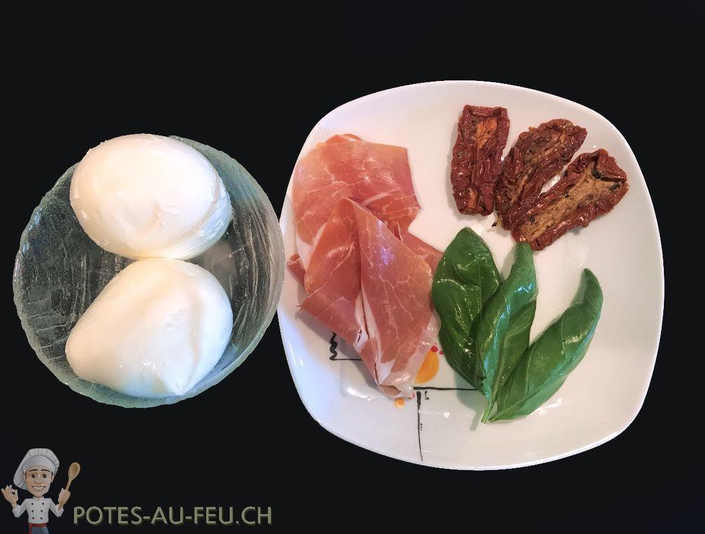 Beignets de Mozzarella