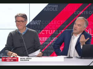 Michel Onfray - Les Grandes Gueules (RMC, BFM TV) - 08.10.2018