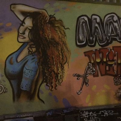 Graffiti N°11 Curly Girl