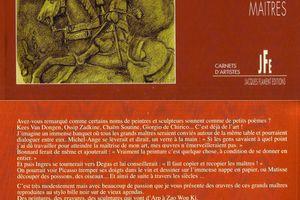 Carnet d'artistes Grands maitres chez Patrick Bonjour