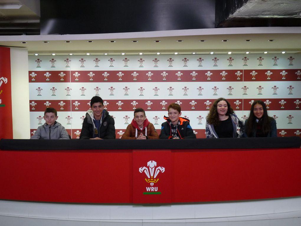 La visite du stade de Cardiff au Pays de Galles