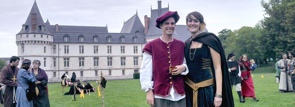 """Robe  """"Médiévale"""""""