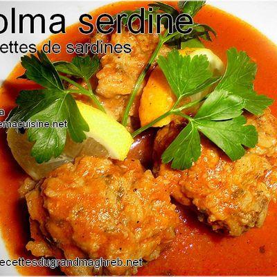 Dolma serdine (Boulettes de sardine)