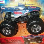 GREAT BITE MONSTER JAM HOT WHEELS BIG FOOT EN FORME DE POISSON REQUIN - car-collector.net