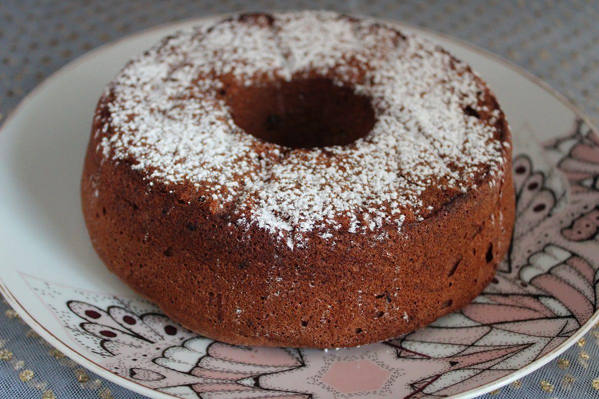 Ange cake au cacao