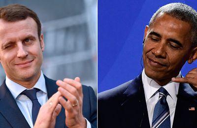 Obama apporte tout son soutien à Emmanuel Macron.