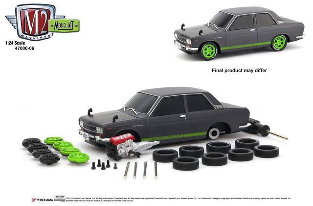 1/24 : Une Datsun 510 customisable chez M2 Machines !