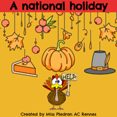 Thanksgiving 2020 by Miss Plédran on Genially