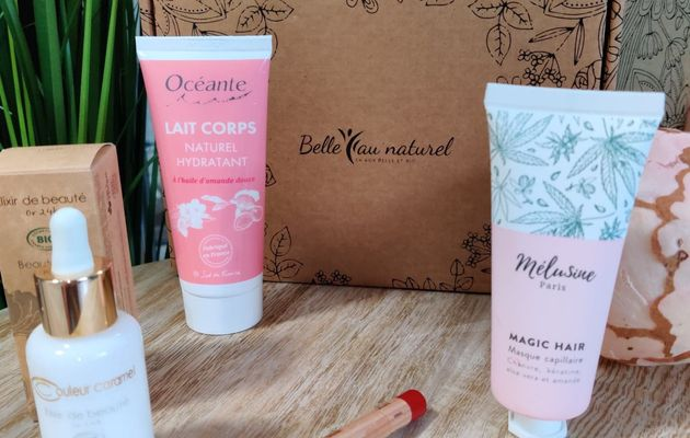 Ma box Belle au naturel  Tendre romance - test et avis