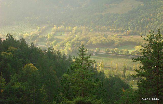 Sortie VTT à Châtillon en Diois le 16/10/2010