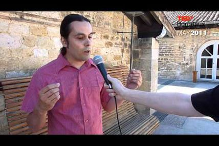 Interview de Frédéric Couchet dans les coulisses du 1er TEDxBordeaux