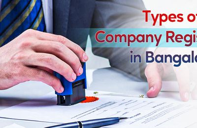 Types of Company Registration in Bangalore