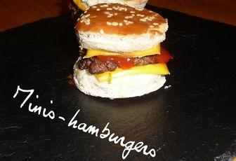 MINIS-HAMBURGERS