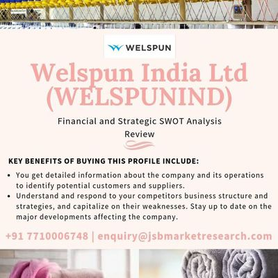 Welspun India Ltd (WELSPUNIND) - Financial and Strategic SWOT Analysis Review