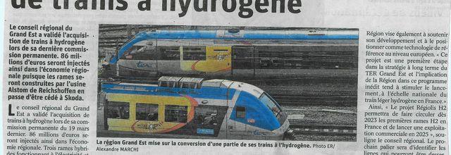 Le TER à hydrogène