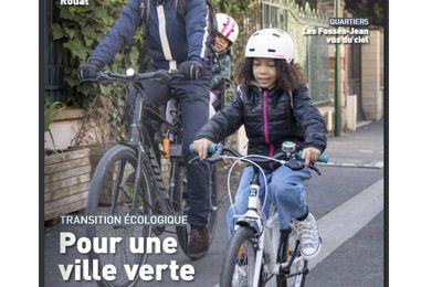 Le magazine de la Ville est disponible sur le site de la ville : Vivre à colombes