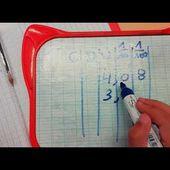 CM1/CM2 : Addition posée de décimaux - étayage