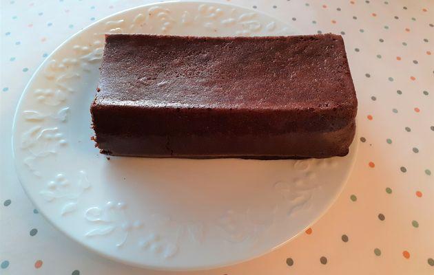Un gâteau chocolat-haricots rouges !