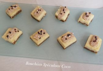 BOUCHEES SPECULOOS COCO
