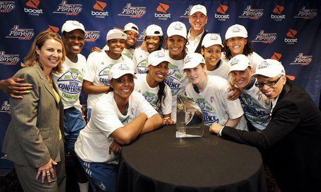 WNBA: Minnesota Champion de la conférence Ouest