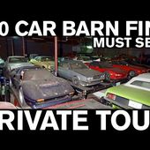 300 CAR BARN FIND: PRIVATE TOUR Ferrari, Lamborghini, Mercedes, Corvette, Mustang, Porsche