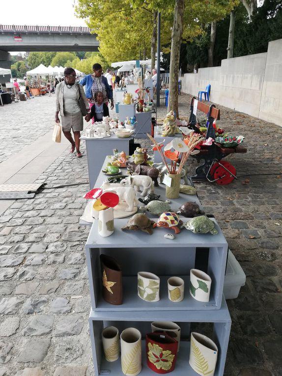 Marché de potiers, Melun 15 et 16 septembre 2018
