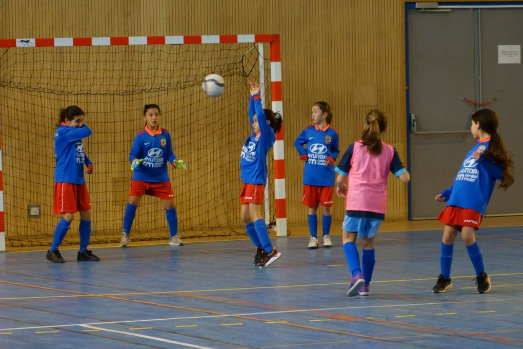 Tournoi du Cosec U12F : Championnes les filles !