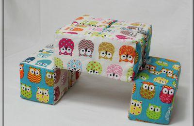 Cube Magique en tissu