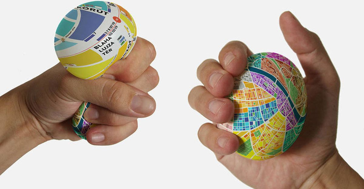 Innovation produit : Egg. Map, anti-stress et rigolo