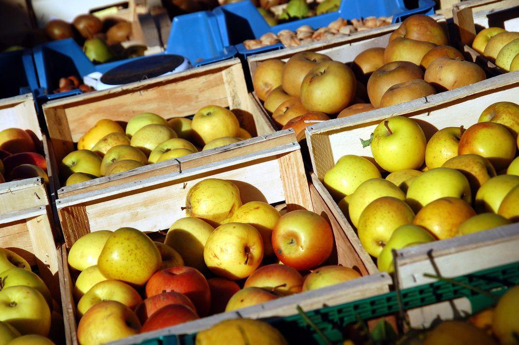 Des fruits et des légumes (2 photos)