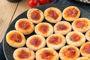 Mini Pizzas Apéritives { pour un apéro sain ! }