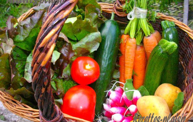 Un bon panier de légumes