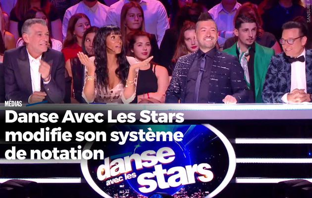 Danse Avec Les Stars modifie son système de notation #DALS