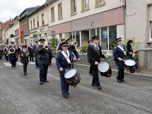 Commémoration de la journée du Souvenir à Algrange en 2015