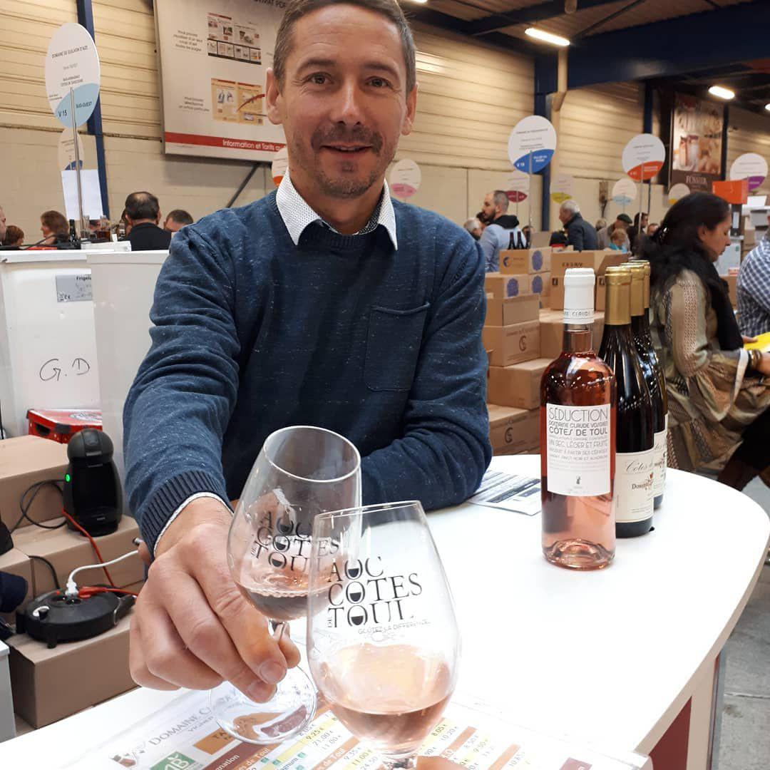 Stéphane Vosgien, Président de l'ODG - AOC Côtes de Toul (DR)