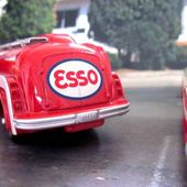 FASCICULE N°3 PANHARD MOVIC ESSO DINKY TOYS REEDITION ATLAS 1/55. - car-collector.net: collection voitures miniatures