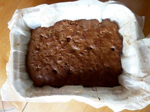 Brownie chocobons, noisettes.
