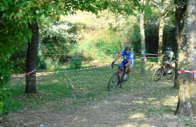 Cyclo-cross de Saint-Priest le 20-10-2018