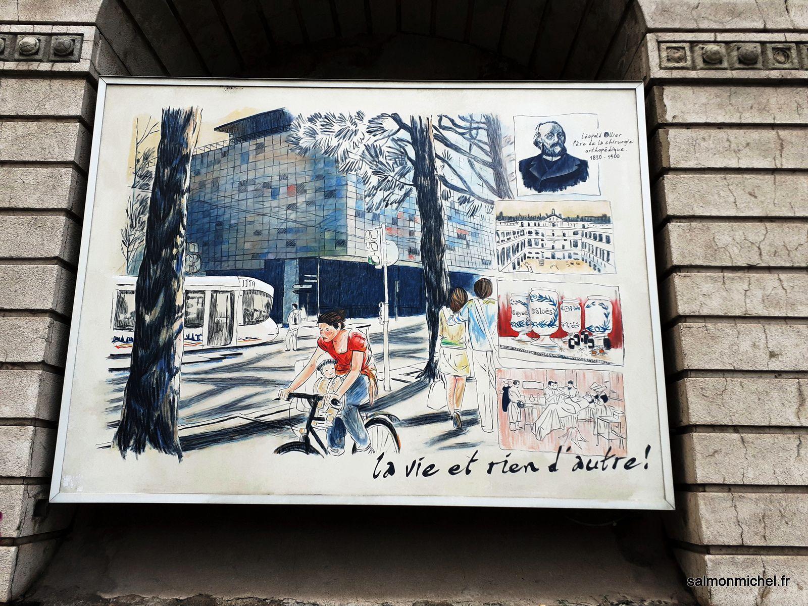 La fresque du centenaire (1912-2012) 7ème arrondissement de Lyon