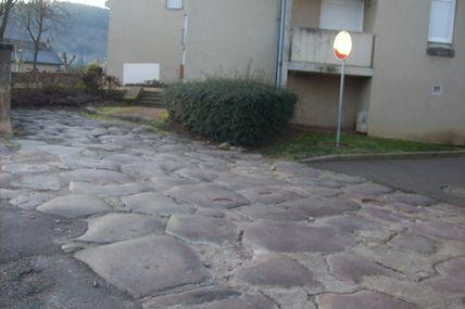 Quartier de la Croix-Verte : la rue de la Jambe de Bois.