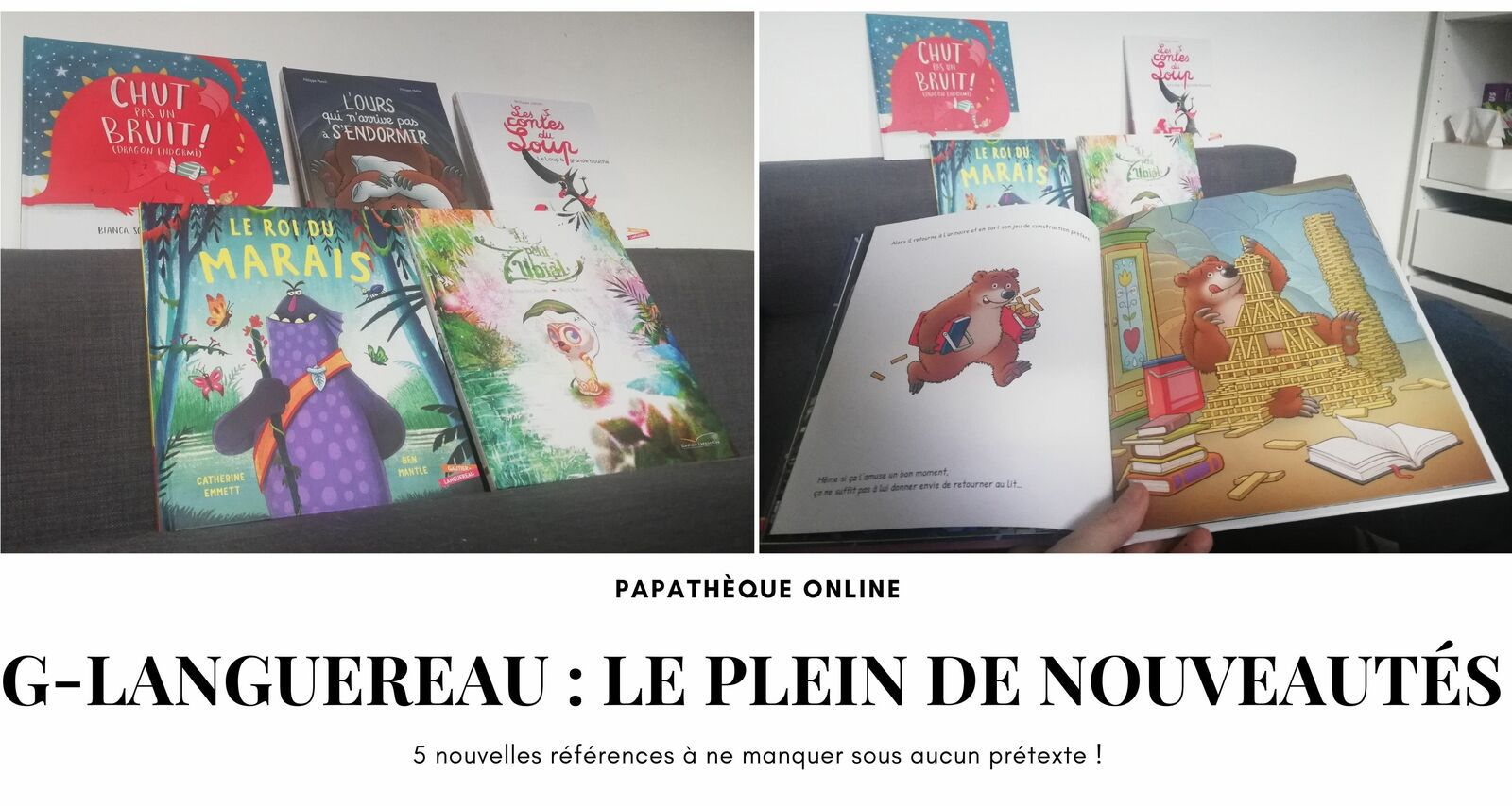 [Papathèque] De beau, du neuf dans la #Papathèque avec les éditions Gautier-Languereau