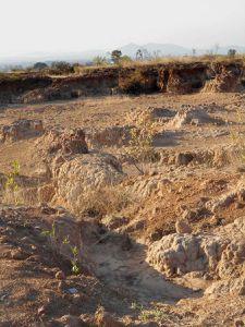 De nouvelle images du « desierto » un milieu naturel profondément raviné