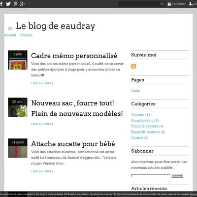 Le blog de eaudray