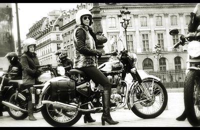 La Royal Enfield, une machine à  remonter le temps