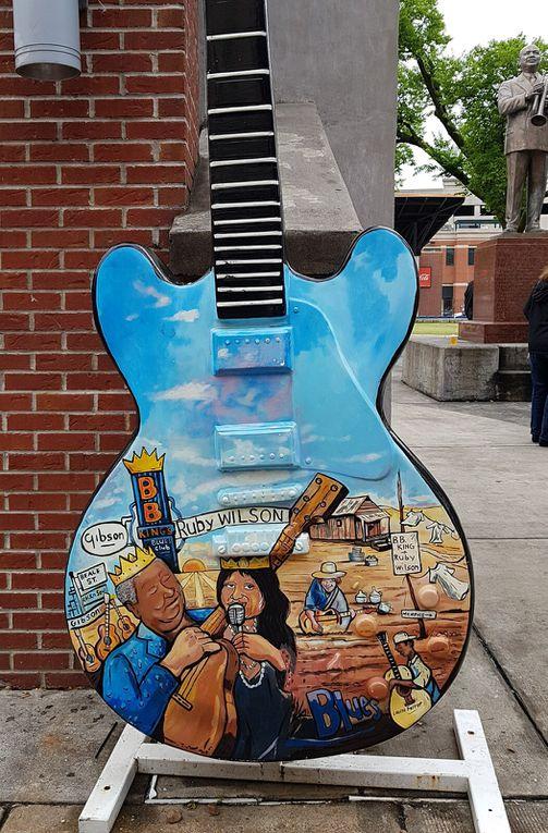 Diaporama : Memphis, guitares