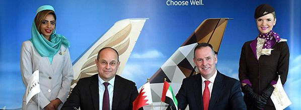 Etihad Airways and Gulf Air sign codeshare agreement