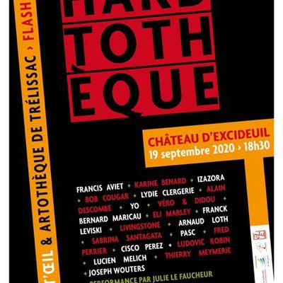 L'EXPOSITION ECLAIR HARDTOTHEQUE C'EST CE SAMEDI 19 SEPTEMBRE 2020 à 18H30